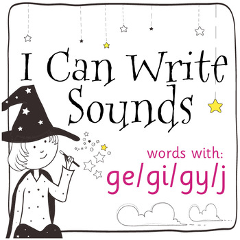 Magic Sounds Phonics: Set 73: words with ge/gi/gy/j