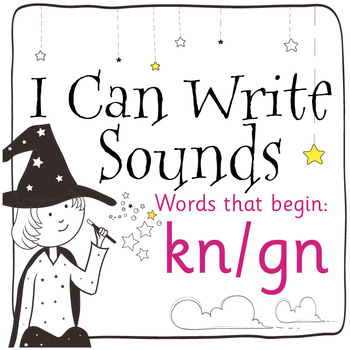 Magic Sounds Phonics: Set 75: words that begin with kn/gn