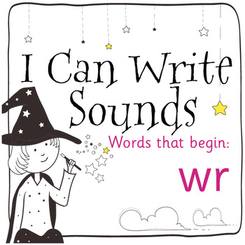 Magic Sounds Phonics: Set 76: words that begin with wr