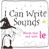 Magic Sounds Phonics: Set 77: words that end with le