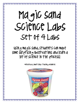 Magic Space Sand Science Labs (set of 4) and Posters