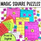 Magic Square Number Puzzles