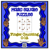 Magic Square Number Puzzles - Finger Counting 0-12