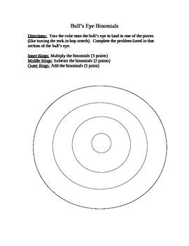 Bull's Eye Binomials