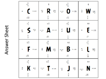 Magic Square Rational and Irrational Numbers