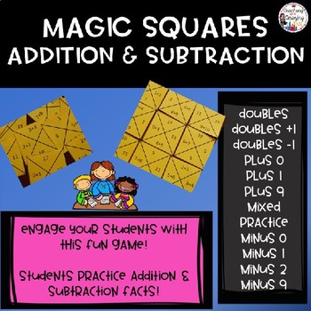 Magic Squares Addition and Subtraction