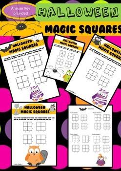 Magic Squares - Halloween