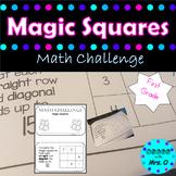 Magic Squares Math Challenge Book