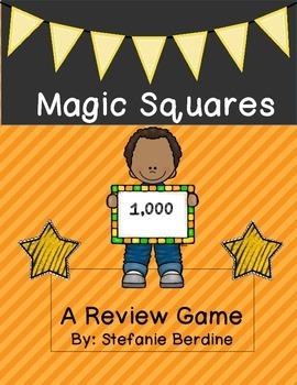 Magic Squares Review Game
