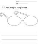 Magic Sunglasses Writing