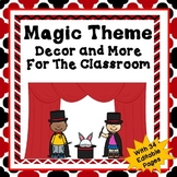 Magic Theme Classroom Decor and More Set