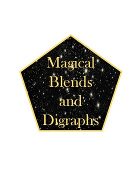 Magic Themed Phonics, Word Family, Digraphs, and Blends