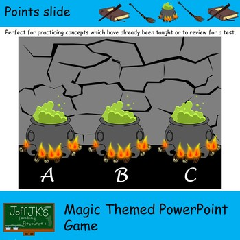 Magic Themed PowerPoint Review Game