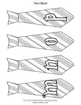 Magic Tie Letters / Decorations