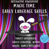 Magic Time Interactive Powerpoint for Early Language Skills