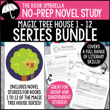 Magic Tree House #1-12 Novel Study Bundle