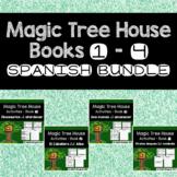 Magic Tree House #1-4 BUNDLE {Spanish}