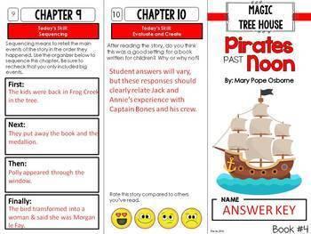 Magic Tree House Novel Study Units: Books #1-5