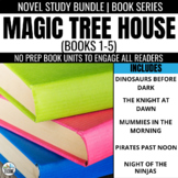Magic Tree House Novel Study Units: Books #1-5