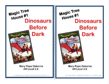 Magic Tree House #1 Dinosaurs Before Dark