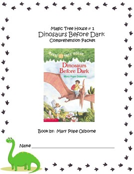 Magic Tree House #1 Dinosaurs Before Dark