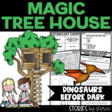 Magic Tree House #1 Dinosaurs Before Dark Book Questions