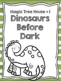Magic Tree House #1 Dinosaurs Before Dark Comprehension Qu