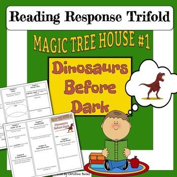 Magic Tree House #1 Reading Response Trifold