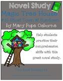 Magic Tree House #10 Ghost Town at Sundown - Novel Study/Comprehension