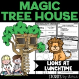 Magic Tree House #11 Lions at Lunchtime Book Questions