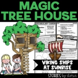 Magic Tree House #15 Viking Ships at Sunrise Book Questions
