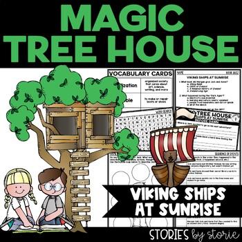 Magic Tree House #15 Viking Ships at Sunrise Book Questions