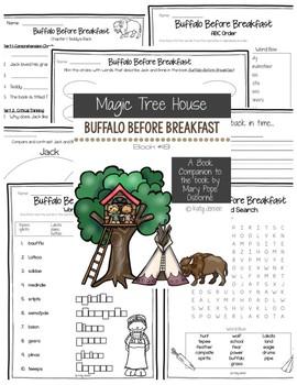 Magic Tree House #18, Buffalo Before Breakfast