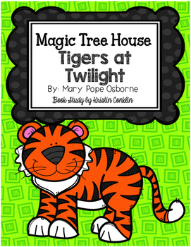 Magic Tree House #19 Tigers at Twilight