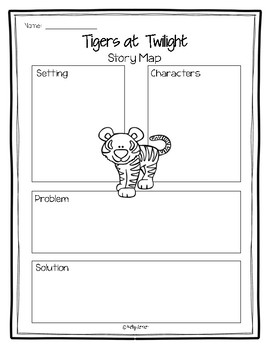 Magic Tree House #19, Tigers at Twilight