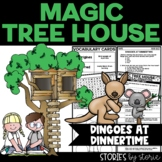 Magic Tree House #20 Dingoes at Dinnertime Book Questions