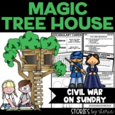 Magic Tree House #21 Civil War on Sunday Book Questions