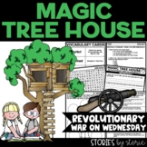 Magic Tree House #22 Revolutionary War on Wednesday Book Questions