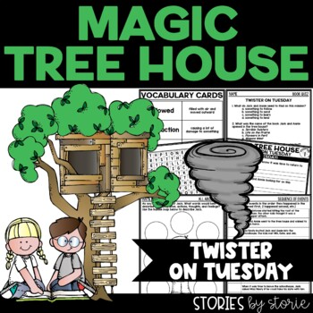 Magic Tree House #23 Twister on Tuesday Book Questions