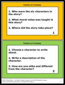 Magic Tree House #23: Twister on Tuesday Novel Study