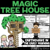 Magic Tree House #24 Earthquake in the Early Morning Book Questions