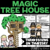 Magic Tree House #27 Thanksgiving on Thursday Distance Learning
