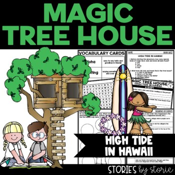 Magic Tree House 28 High Tide In Hawaii Book Questions By Stories