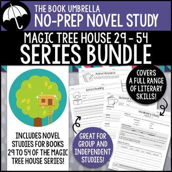Magic Tree House #29-54 - GROWING Novel Study Bundle