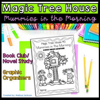 Magic Tree House #3 Mummies in the Morning Book Club Packet
