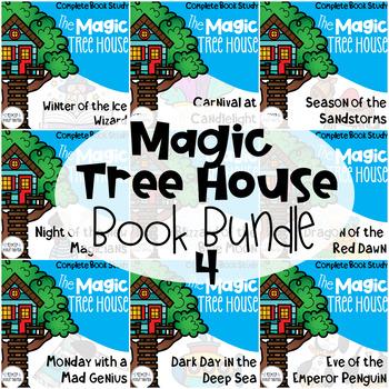 Magic Tree House Bundle 31-40 Guided Reading