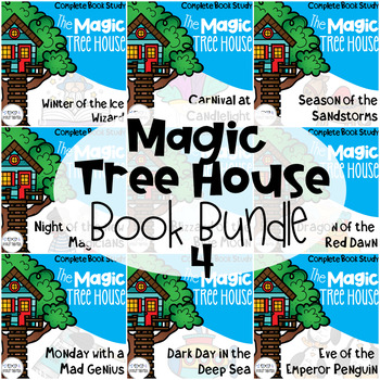 Magic Tree House 31-40 Guided Reading Bundle
