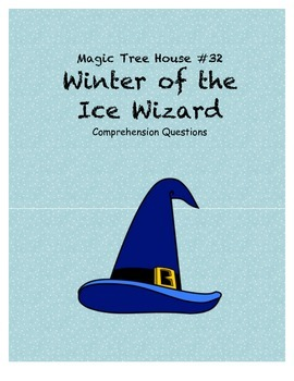 Magic Tree House #32 Winter of the Ice Wizard comprehensio