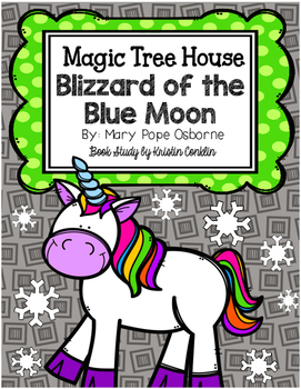 Magic Tree House #36 Blizzard of the Blue Moon