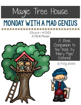 Magic Tree House #38, Monday with a Mad Genius